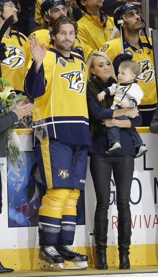 """Even though Carrie Underwood and Mike Fisher have done nothing but support each other and gush about each other in interviews, like all famous couples they have consistently been plagued by rumors of divorce. Last year, however, the rumors got worse following the birth of their son Isaiah. According to the """"reports"""" at the time, Fisher wanted to have another child right away, and wanted Carrie to take another year or two off so that they could have children close in age. The reports also…"""