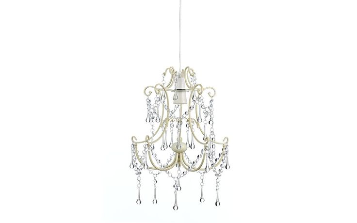 Chella Cream Beaded Pendant Chandelier at Laura Ashley