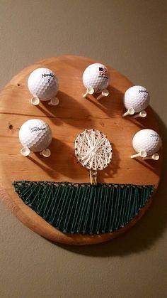 ... Golf Crafts on Pinterest | Wood Scraps, Golf Ball Crafts and Golf Ball
