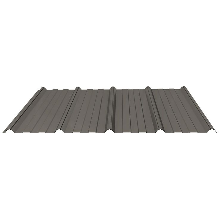 Best Fabral Shelterguard 8 Ft Exposed Fastener Steel Roof 640 x 480