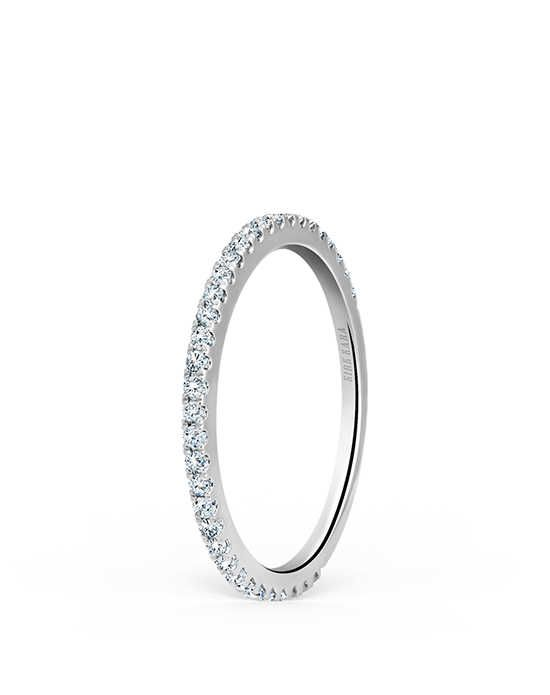 Kirk Kara Pirouetta Collection K174-B White Gold Wedding Ring