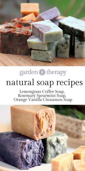 Bath & Body: Cold-Process All-Natural #Handmade #Soap.