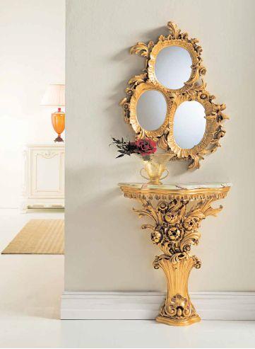 Консоль Silik в стиле барокко 6 — мебель и аксессуары дизайн-студии Мирабель