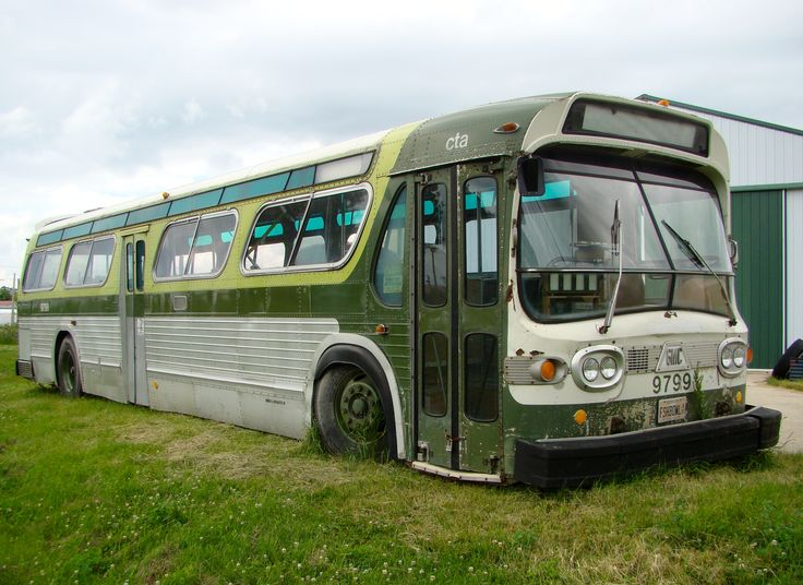 9799 cta fishbowl bus chicago transit authority bus