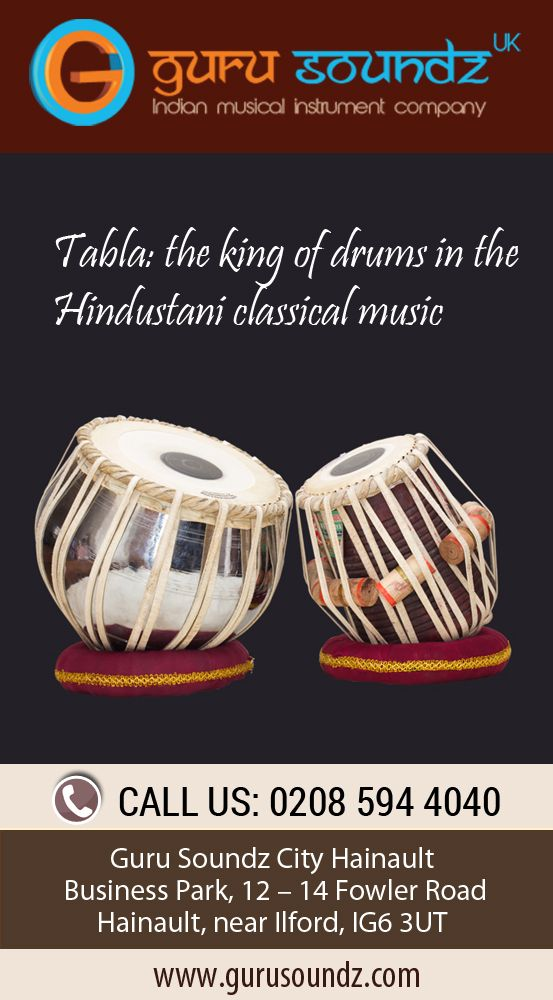 Tabla: the king of drums in the Hindustani classical music