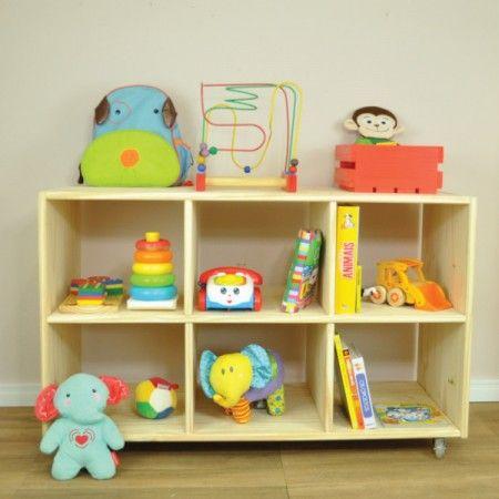 Estante Cubos de Madeira! - Tadah! Design Montessori room
