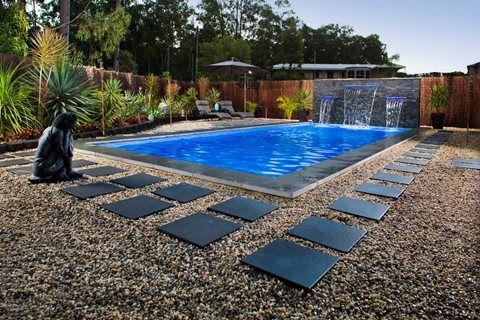 127 best Pool Designs by Freedom Pools images on Pinterest | Pool ...