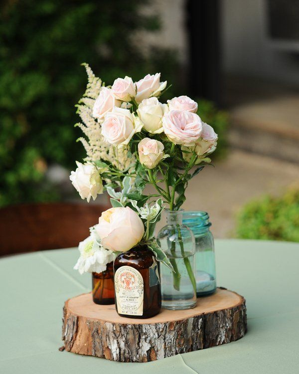 Elegant rustic wedding stephanie jake flower