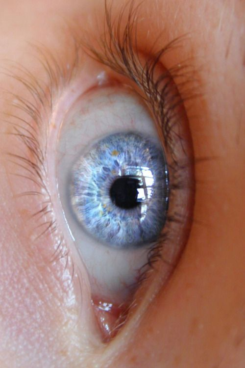 this eye is as clear as a crystal