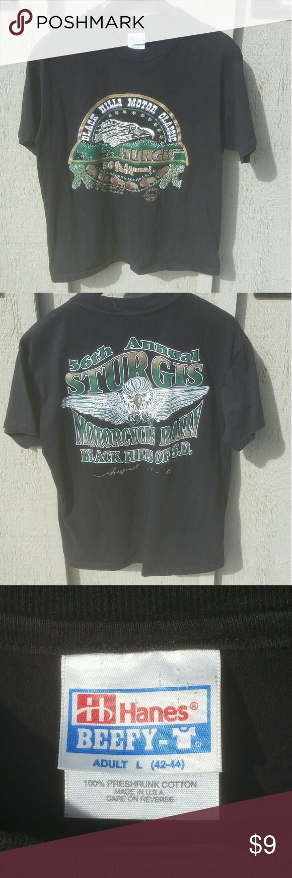 Vintage 56th Annual Sturgis Motorcycle Rally 1996 Vintage 56th Annual Sturgis Motorcycle Rally 1996 in excellent condition. Shirts Tees - Short Sleeve