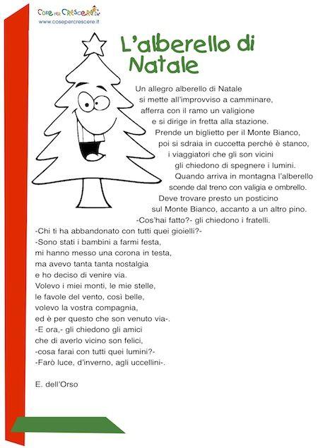 Poesie Di Natale Per Bambini Di Scuola Elementare.L Alberello Di Natale Poesia Di Natale Per Bambini Scuola