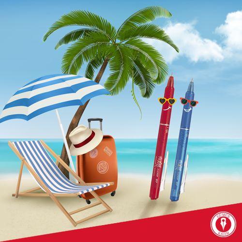 Tatile giderken de Pilot kalemleriniz sizinle! #gumuskalemmagazalarinda