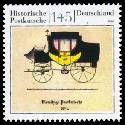 Bild der Briefmarke (Historische Postkutsche)