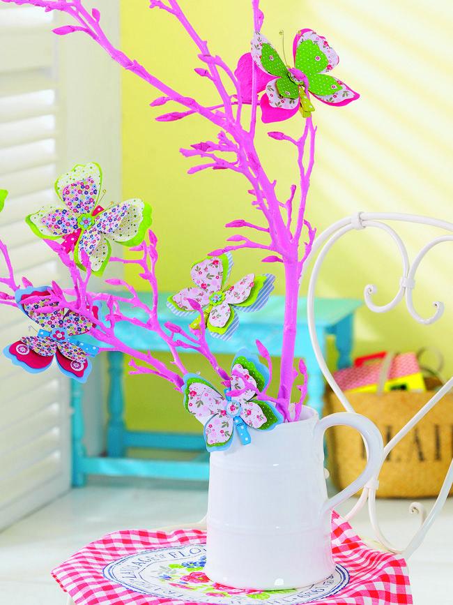 Как сделать декоративных бабочек из бумаги