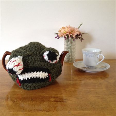 Zombie Tea Cosy to fit a  6 cup pot - Teapot Therapy on Madeit