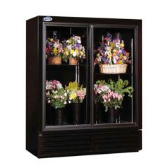 """52"""" Wide Two Door Refrigerated Floral Cooler for Sale 
