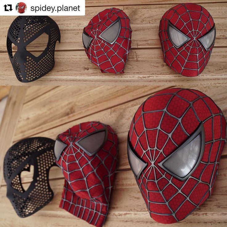 All in favor of making @spidey.planet make these for customers again Say I!  #spiderman #spiderman2 #spiderman3 #raimi #faceshell #lenses #tobeymaguire #spidermancosplay #newyork #nyc #marvel #comics #comiccon #marvelcomics #marvelcosplay #mcu #disney #disneycosplay #superhero #avengers #infinitywar #ironman #captainamerica #cosplayers #costume #movies #replica #webshooters #comicbooks