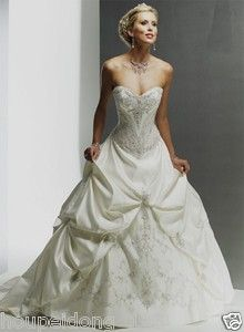 Southern belle wedding dress Monalisa Royale maggie sottero