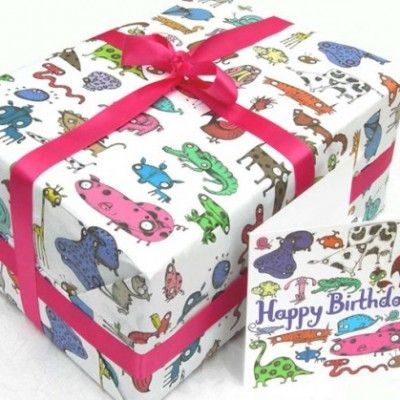 Animal theme wrap - $3.95. Available from: http://pennyfarthingkids.com.au/product-category/kids-2/ #penny #farthing #kids #gifts