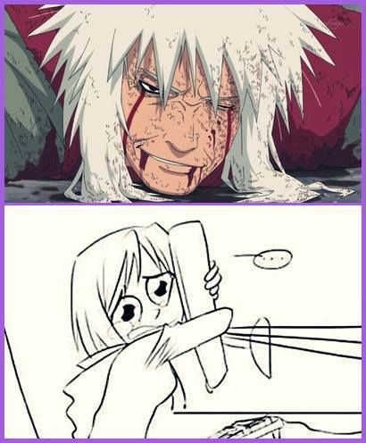 "In this Episode I was just like: "" Wtf?!? He isn't Dead?!? He can't be Dead, right?!?"" ~ Jiraiya"