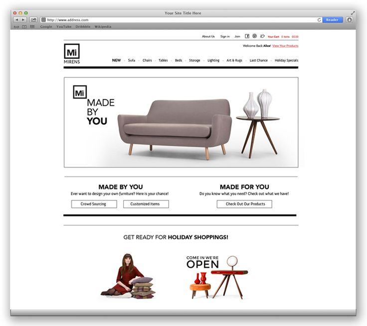 Mirens | Web Design Portfolio | Other Industries | Toronto | Richmond Hill | North Toronto | www.magentadesign.ca