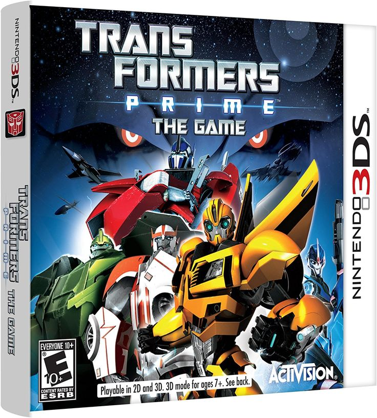 Transformers Prime The Game Nintendo 3DS Activision Inc Video Games If I Get A