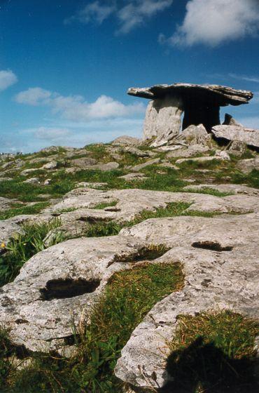 Poulnabrone Dolmen - The Burren - County Clare, Ireland