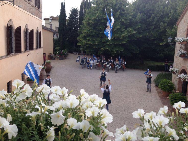Villa Collalto the flag show