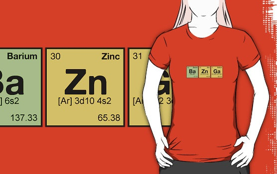 BAZINGA! - periodic elements scramble by dennis william gaylor