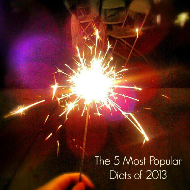 5 of the Most Popular Diets of 2013 - And Two To Look Out For in 2014