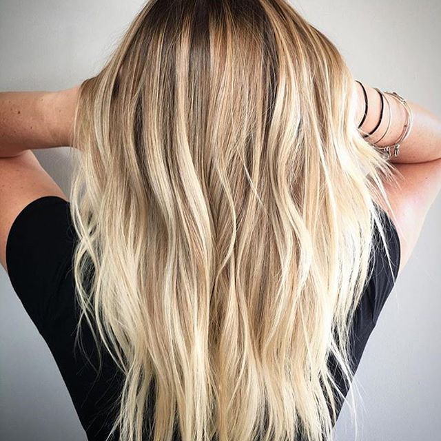 15 Balayage Hair Color Ideas With Blonde Highlights: 25+ Best Ideas About Blonde Highlights On Pinterest