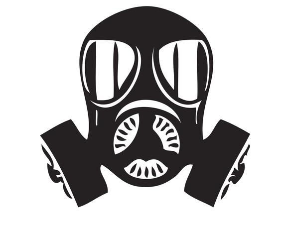 Gas Mask Army Navy Marine Air Force Military Chamber Etsy Gas Mask Navy Marine Silhouette Curio Projects