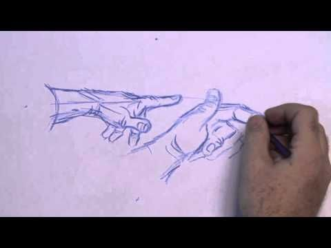 how to draw a hand youtube