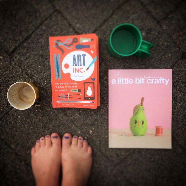 @lisacongdon thankyou for inspiring me #summerreading #makingart #craft #handmade