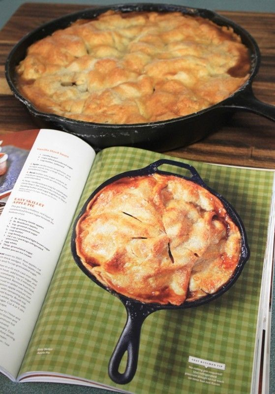 "I love the opportunity to bake in my iron skillet, so when I saws this recipe in ""Southern Living Cakes & Pies"" I had to make it, besides, I love apple pie! This magazine was a ""special collect..."