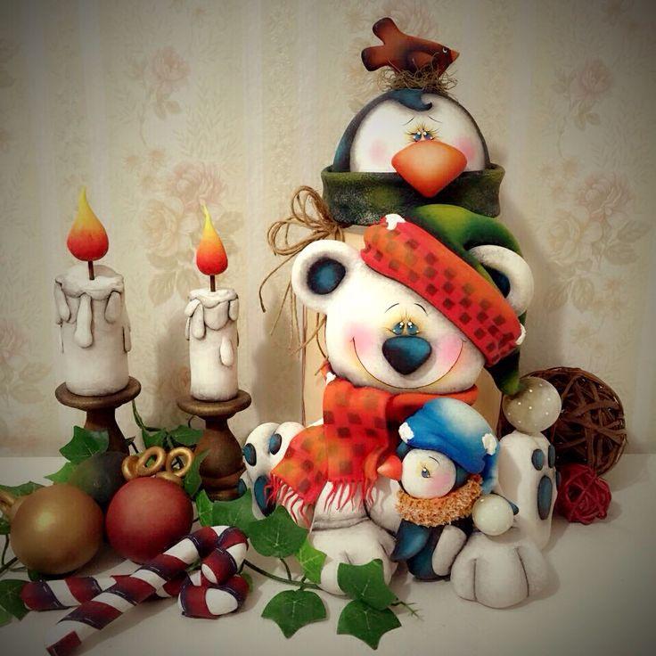 Pote urso natalino