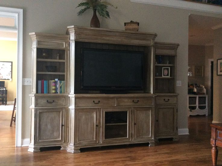 The 25 Best Painted Entertainment Centers Ideas On