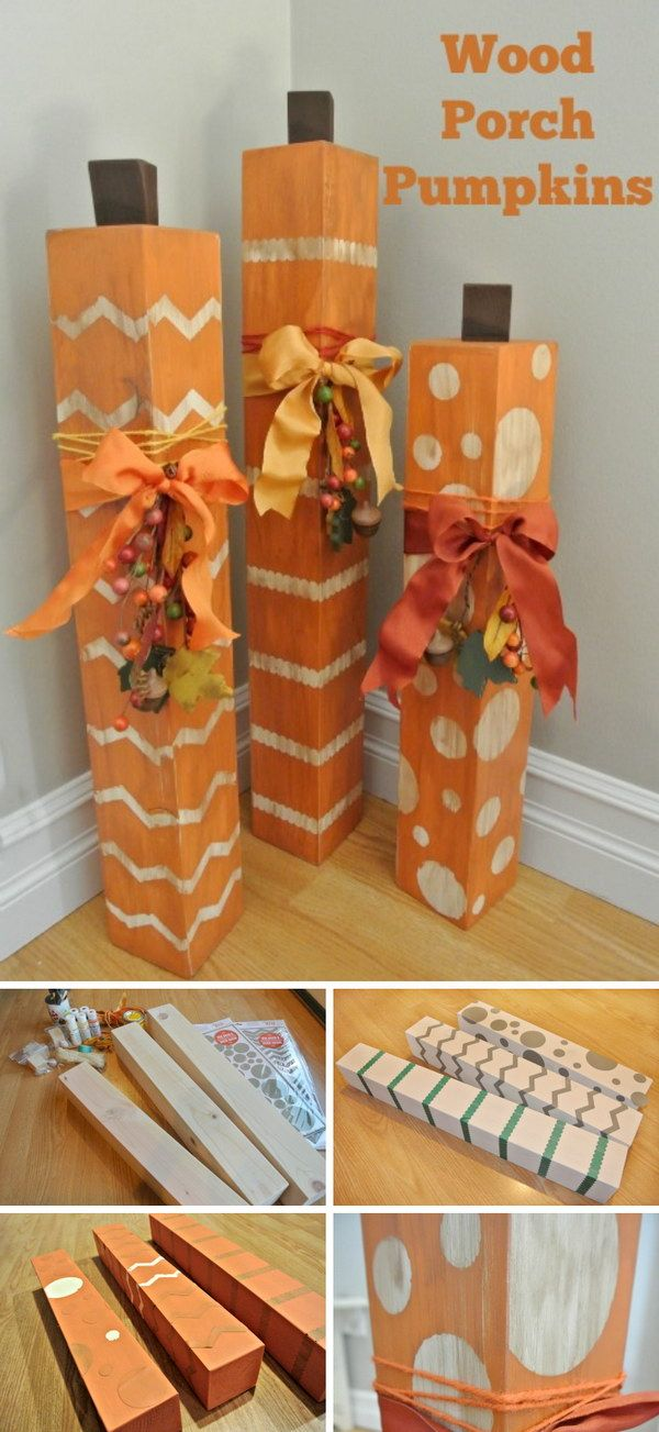 1000 images about pumpkin crafts on pinterest pumpkin for Fall diy crafts pinterest