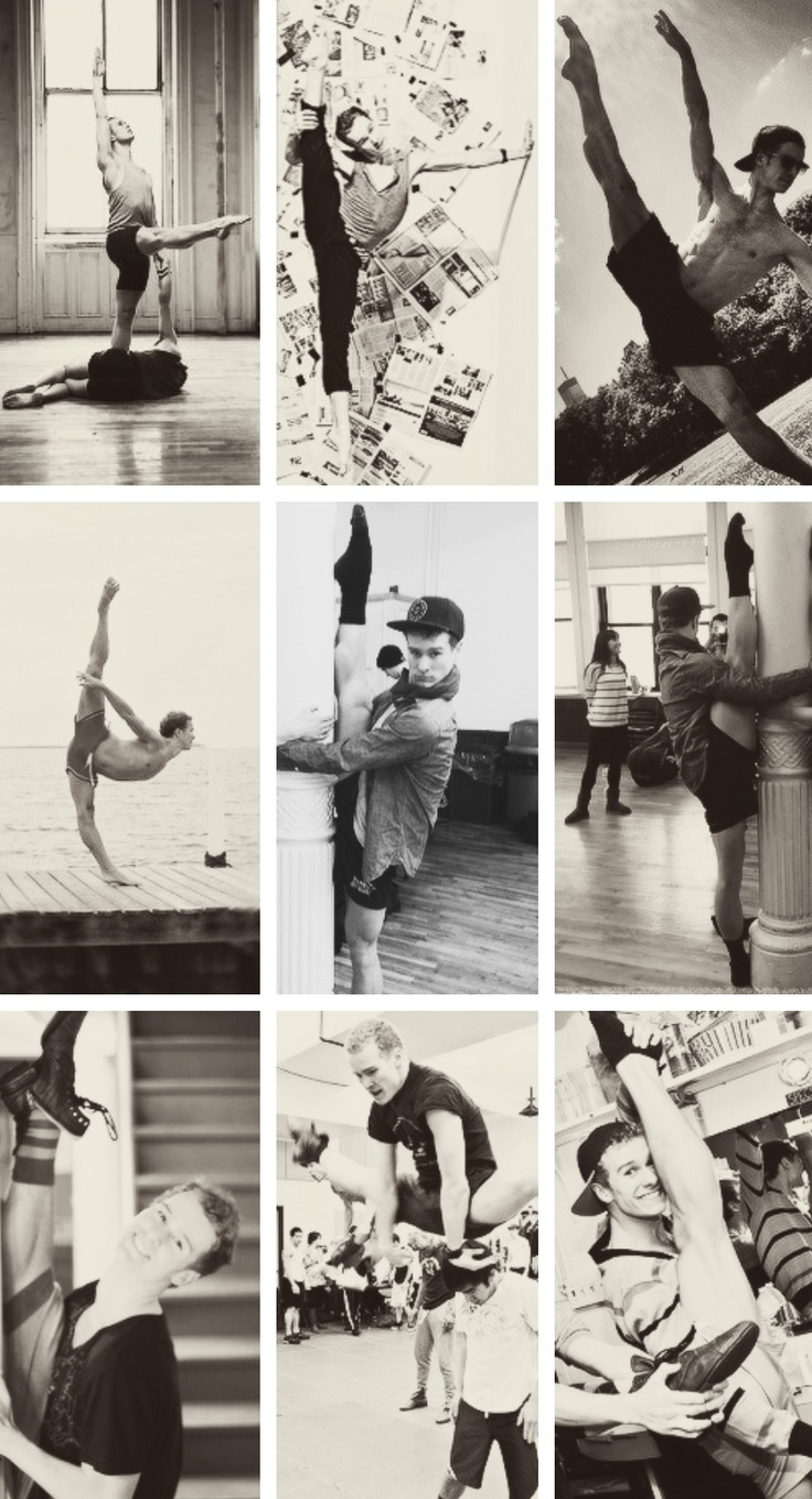 Ryan Steele - I think it's safe to say that he's the best dancer. (Or most flexible anyway)