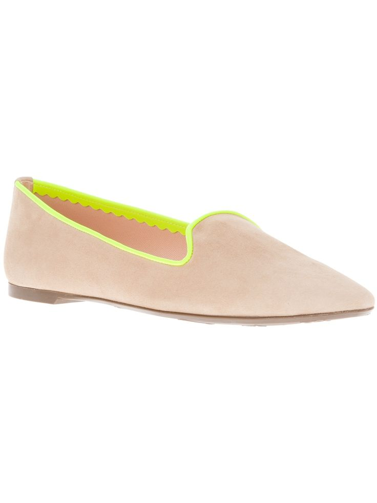 Pretty Ballerina - neon loafers