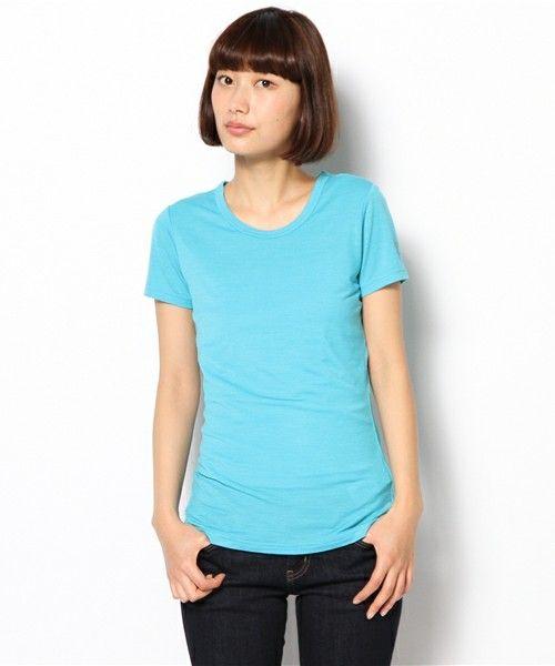 【SN】super natural: マックス Tシャツ(Tシャツ・カットソー)|ライトブルー ¥6,804 素材:WOOL48%, ポリエステル48%, ポリウレタン4% 原産国:中国 シルエットのきれいなTシャツ。動きやすく、スポーツシーンだけでなく旅行などにもおすすめです。  【SN】super natural(スーパー ナチュラル) スイス発の新ブランド。コンセプトは、「スポーツウエアの機能性」と「ファッション」をクロスオーバーしたウエア。Super:ハイテク・ファイバーのもつ機能性+natural:上質な天然繊維(メリノウールなど)の持つ快適性を最高のバランスでハイブリッド。それぞれのメリットを相互に引き出し、最高の快適性、機能性、スタイリングを兼ね備えた究極のEASY WEAR、それが【SN】です。 http://sn-supernatural.jp/index.html