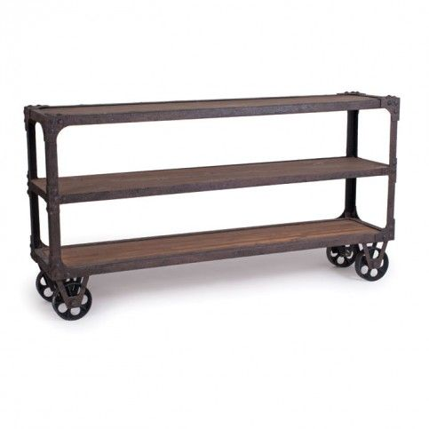 1000 images about sofa tables on pinterest industrial for Sofa table on wheels