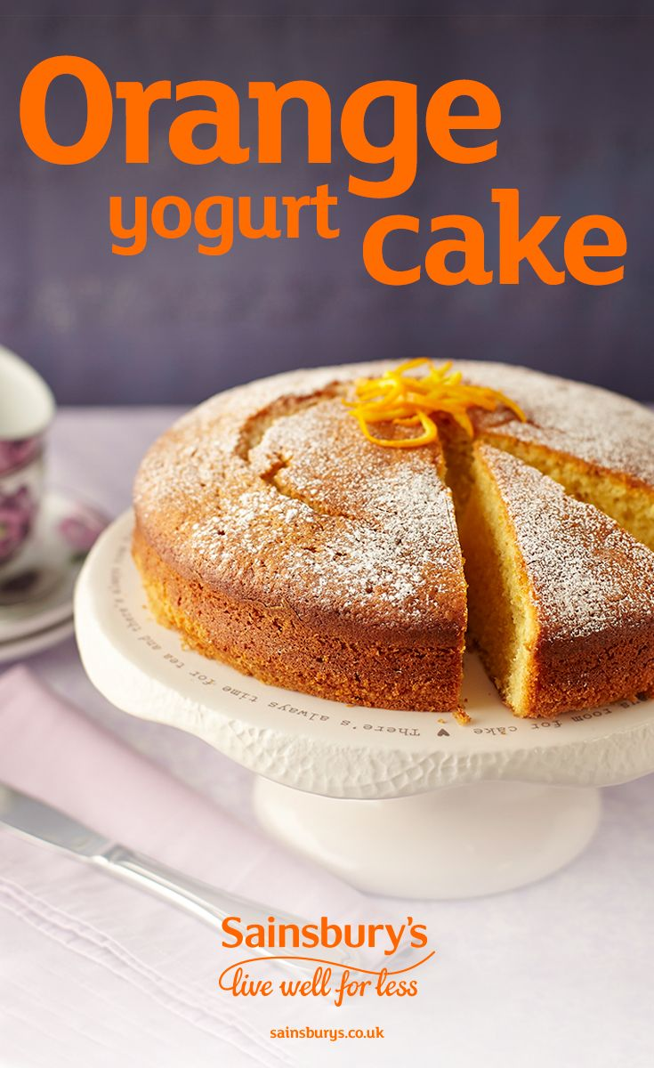 Want to do some evening or weekend baking? This orange yogurt sponge cake is super tasty. It's sure to be popular with the whole family. Top tip - swap the oranges for lemons and use lemon flavoured Greek yogurt instead for a lemony twist.