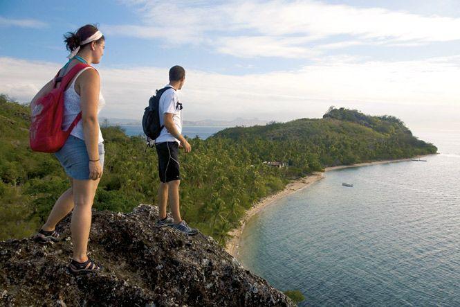 Overlooking the site of Tribewanted's village.  http://www.destinasian.com/countries/australia-oceania/fiji/tribewanted-fiji/