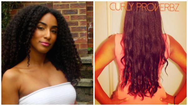 Rising Youtubers Hip Length Natural Hair