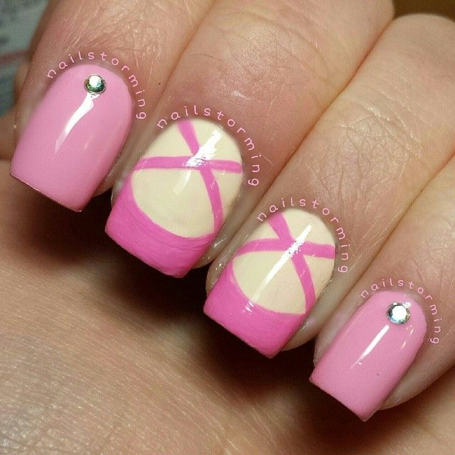 Instagram photo by nailstorming #nail #nails #nailart. Cute for a little girl.