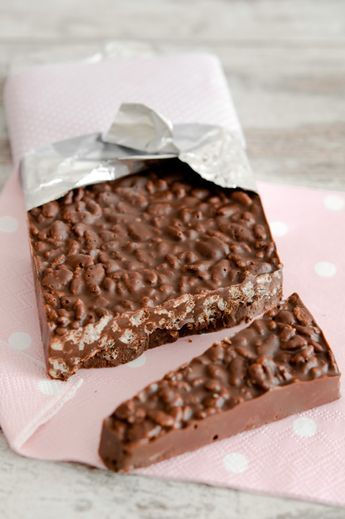 chocolate nougat...looks awesome but the recipe is in a different language!