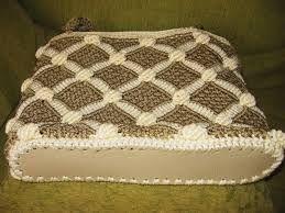 Resultado de imagen para bolsos tejidos a crochet con cola de rata