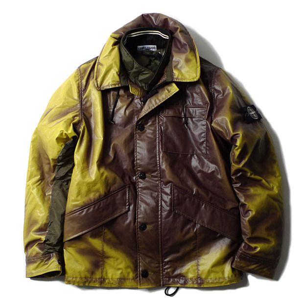fashion die jacke mit farbwechsel stone island ice jacket aus thermochromatischem gewebe. Black Bedroom Furniture Sets. Home Design Ideas