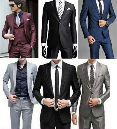 Дешевое Новый 2015 высокое качество мода мужчины бренд! мужская блейзер бизнес тонкий одежда костюм и брюки самые продаваемые терно masculino, Купить Качество Костюмы непосредственно из китайских фирмах-поставщиках: New 2015 High Quality Fashion Men Suit Brand! Men's Blazer Business Slim Men Clothing Suit And Pants Top Selling terno m